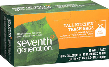 Seventh Generation Tall Kitchen Trash Bags
