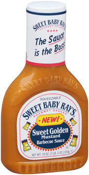 Sweet Baby Ray's® Sweet Golden Mustard Barbecue Sauce 18 oz. Squeeze Bottle