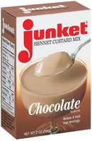 Junket Chocolate Rennet Custard Mix 2 Oz Box