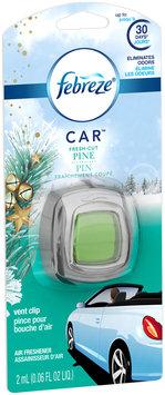 Febreze CAR Vent Clip Fresh Cut Pine Air Freshener (1 Count, 0.06 oz)