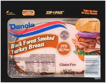 Danola® Black Forest Smoked Turkey Breast 12 oz. Double Zip™ Zip Pak®