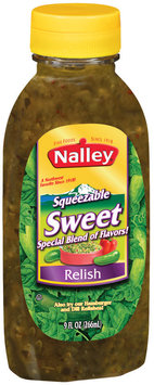 Nalley Sweet Squeezable Relish 9 Oz Squeeze Bottle