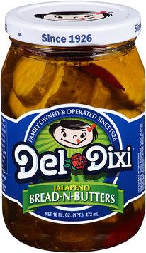 Del-Dixi® Jalapeno Bread-N-Butters