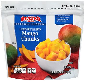 Stater bros® Freshly Frozen Unsweetened Mango Chunks