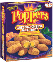 Poppers Cheddar Cheese Stuffed Jalapenos
