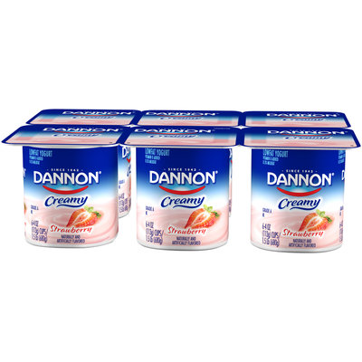 Dannon® Creamy Strawberry Lowfat Yogurt