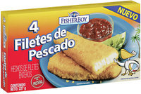 Fisher Boy Filetes de Pescado 4 ct. Box
