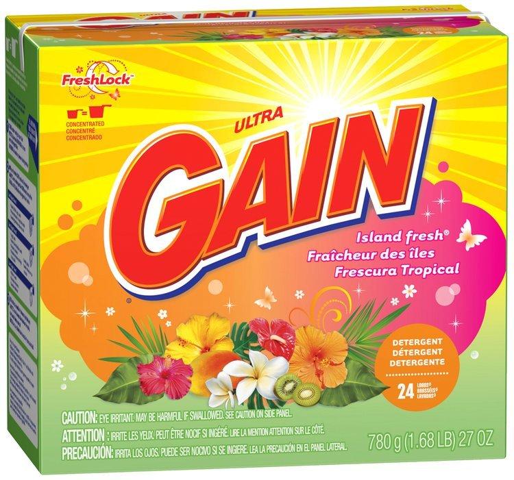 Gain® Ultra Island Fresh with FreshLock Powder Laundry Detergent 27 oz. Box