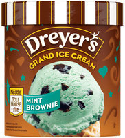 DREYER'S/EDY'S Grand Nestlé Toll House Mint Brownie Ice Cream 1.5 qt. Carton