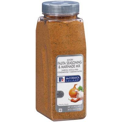 McCormick® Culinary™ Savory Fajita Seasoning & Marinade Mix 24 oz. Shaker