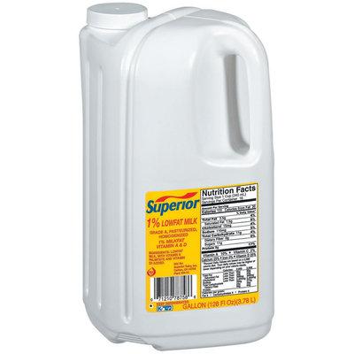 Superior 1% Lowfat  Milk 1 Gal Jug