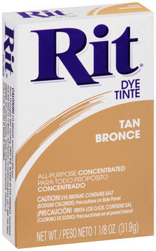 Rit® All-Purpose Concentrated Tan Dye 1.125 oz. Box