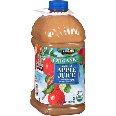 Kirkland Signature™ Organic  Unfiltered Apple Juice 1 gal. Jug