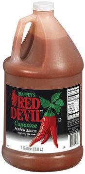 Trappey's Red Devil Cayenne Pepper Sauce 1 Gal Jug