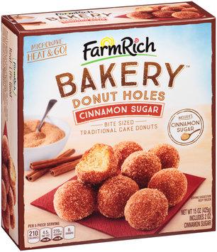 Farm Rich Bakery™ Cinnamon Sugar Donut Holes 15 oz. Box