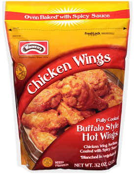 Wimmer's® Chicken Wing Buffalo Style Hot Wings 32 oz. Bag