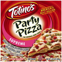 Totino's® Supreme Party Pizza® 10.9 oz. Box