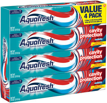 Aquafresh® Cavity Protection Cool Mint Fluoride Toothpaste Value Pack