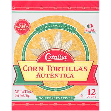 Catallia® Corn Tortillas 10 oz. Bag