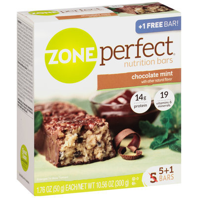 ZonePerfect® Chocolate Mint Nutrition Bars 6 ct Box