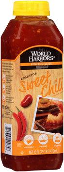 World Harbors® Asian Style Sweet Chili Sauce & Marinade 16 fl. oz. Bottle