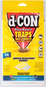 d-Con® Glue Board Mice & Insects Traps 4 ct Package