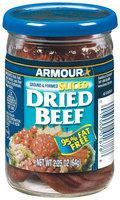 Armour Sliced 95% Fat Free Beef Dried 2.25 Oz Jar