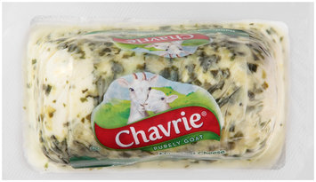 Chavrie® Mild Goat Cheese with Cucumber & Chive 4 oz. Pack