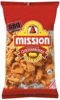 Mission Chicharrones Barbecue Flavor Pork Rinds 4.5 Oz Bag