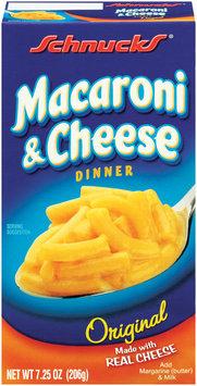 Schnucks Original Macaroni & Cheese 7.25 Oz Box