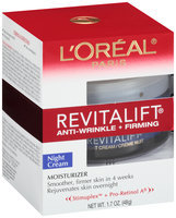 L'Oréal Paris® Revitalift® Anti-Wrinkle + Firming Night Cream 1.7 oz. Jar