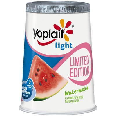 Yoplait® Light Limited Edition Watermelon Fat Free Yogurt 6 oz. Cup