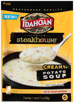 Idahoan® Premium Steakhouse® Creamy Potato Soup 7.1 oz. Pouch