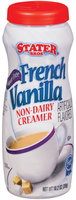 Stater Bros. French Vanlla Sugar Free Creamer 10.2 Oz Shaker