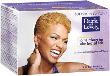 Dark and Lovely Maximum Moisturization and Sheen No-Lye Relaxer For Color-Treated Hair 1 Ct Box