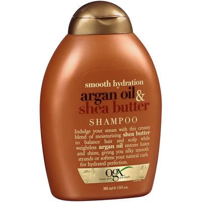OGX® Smooth Hydration Argan Oil & Shea Butter Shampoo