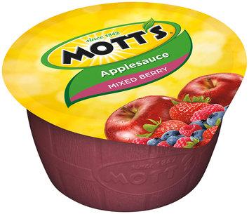 Mott's® Mixed Berry Applesauce 6-4 oz. Cups