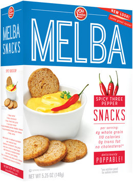 Old London® Melba Snacks Spicy 3 Pepper 5.25 oz. Box