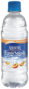 Aquafina® FlavorSplash® Peach Mango Water Beverage 16.9 fl. oz. Plastic Bottle