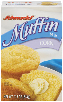 Schnucks Corn 7.5 Oz Muffin Mix   Box