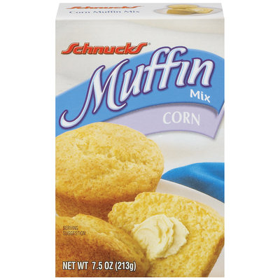 Schnucks Corn 7.5 Oz Muffin Mix   Box