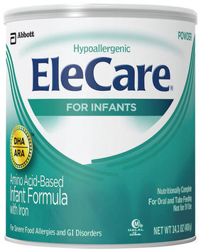 Elecare With DHA/Ara Infant Formula 14.1 Oz Can