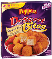 Poppers Cheesecake Dessert Bites 30 Oz Box
