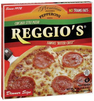 REGGIO'S Pepperoni Chicago Style Dinner Size Pizza 20 OZ BOX
