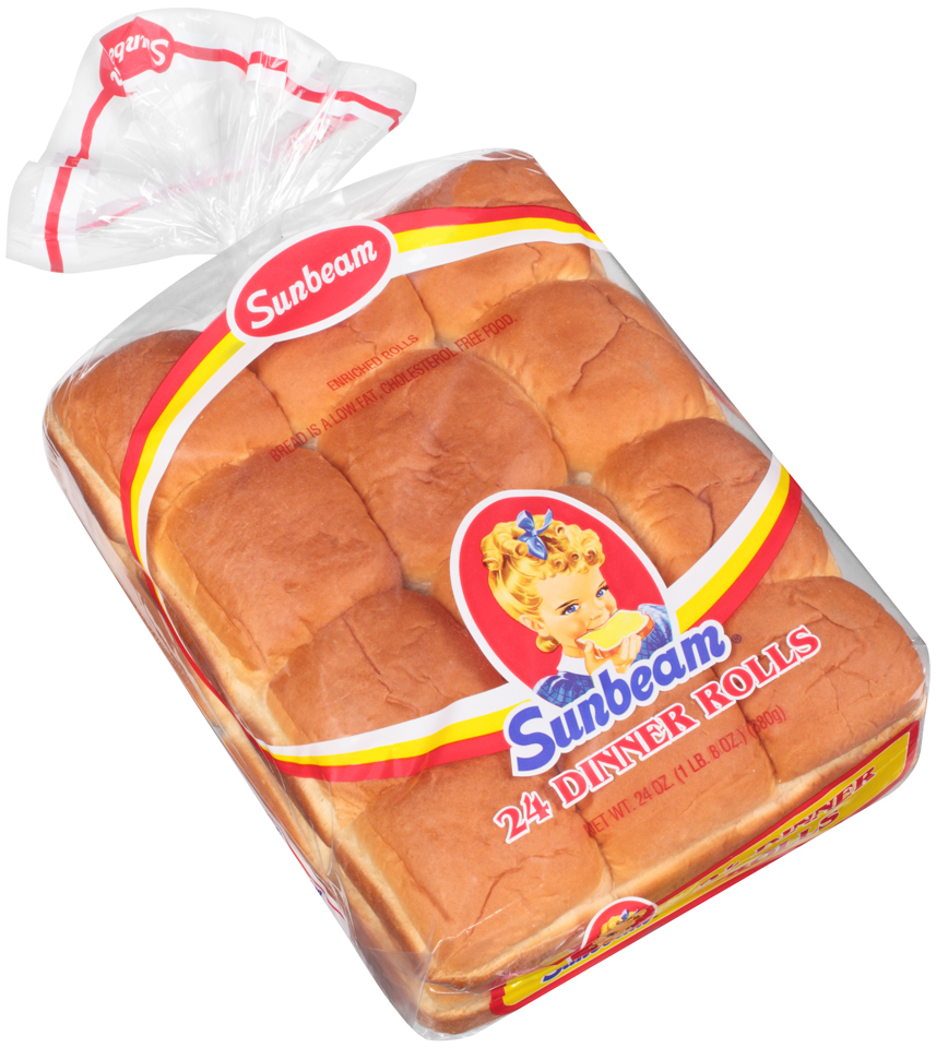 Sunbeam® Dinner Rolls 24 ct Bag