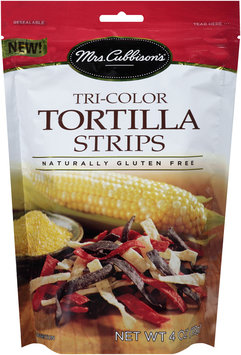 Mrs. Cubbison's® Tri-Color Tortilla Strips 4 oz. Pouch