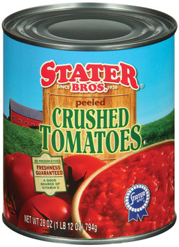 Stater Bros. Peeled  Crushed Tomatoes 28 Oz Can