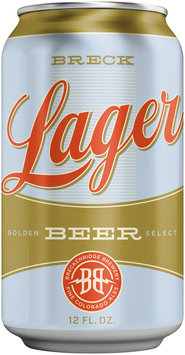 Breck Lager 12 fl. oz. Can