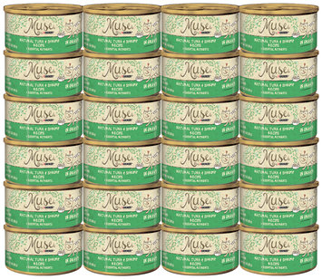 Muse by Purina Natural Tuna & Shrimp Recipe in Gravy Cat Food 3 oz. Can