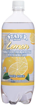 Stater Bros.® Flavored Sparkling Water Lemon 33.8 fl.oz.